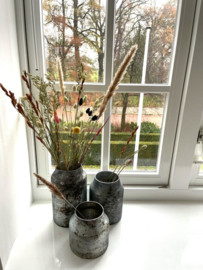 Decoratie Vaas Bloom - Sky - Set van 3