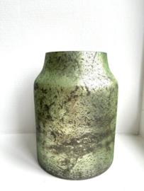 Decoratie Vaas Bloom - Sage - Medium - Ø15 x H21
