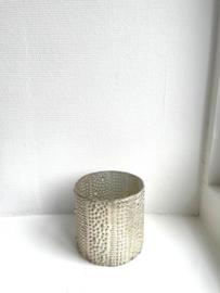 Vaas Shine - Ivory - Small - Ø10 x H10