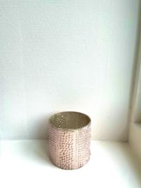 Vaas Shine - Pink - Small - Ø10 x H10