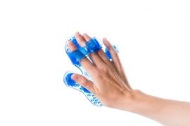 Flowee Massagehandschoen | Blauw