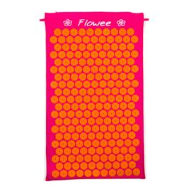 Spijkermat | Fuchsia-Oranje