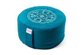 Meditatiekussen mandala | Turquoise