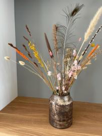 Decoratie Vaas Bloom - Pink - Medium - Ø15 x H21