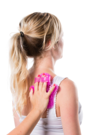 Flowee Massagehandschoen | Roze | Multi Deal