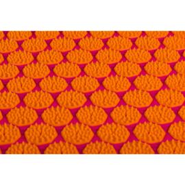 Spijkermat ECO (met kokosvulling) | Fuchsia-Oranje