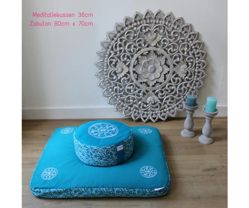 flowee zabuton meditatiekussen mediteren yoga mindfulness