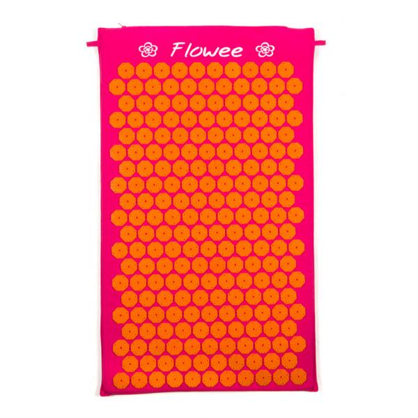 Flowee Spijkermat - Fuchsia-Oranje - 77x45cm