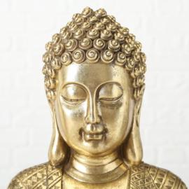 Buddha - Goud - 20 cm