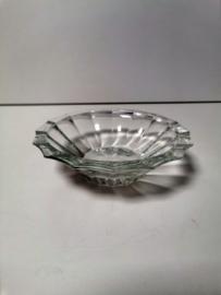 Asbak - Glas - Rond - 18cm.