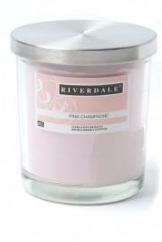 Riverdale geurkaars Pink Champagne 48+