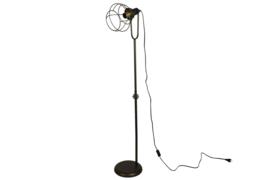 Vloerlamp - Industrieel - 149cm - Bronz