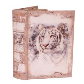 Boek - Decoratie - Opbergkistje - 23x16.5x5.5 cm