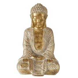Buddha - Goud- 38cm - Boeddha