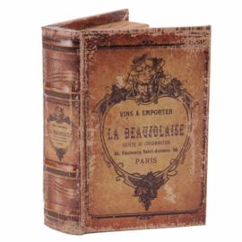 Boek - Decoratie - Opbergkistje - 15x10x3.5 cm - La Beaujolaise