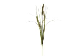 Decoratie takken - kunststof - Alopecurus  - Ø 9 cm - 84cm - Groen