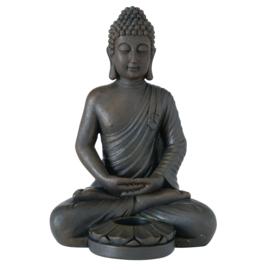 Buddha - Waxine houder - Bruin- 33cm - Boeddha