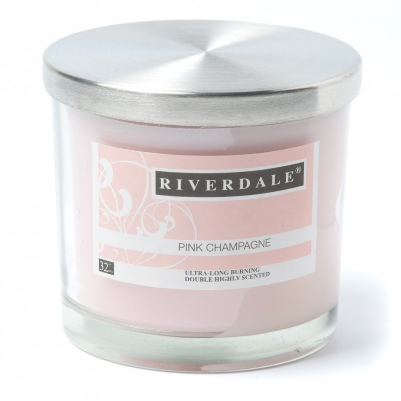 Riverdale geurkaars Pink Champagne 32+