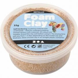 Foam clay - goud