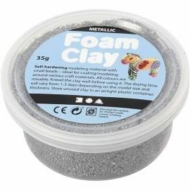 Foam clay - zilver