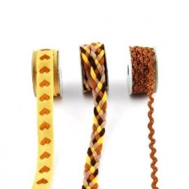 Lint - combinatie van bruin - 3x1 meter