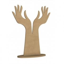 Sieradenhouder handen - L