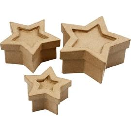 Stervormige doosjes - set van 3