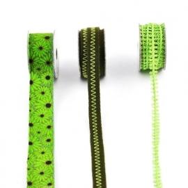 Lint - combinatie van groen - 3x1 meter