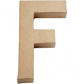 Letter F - groot