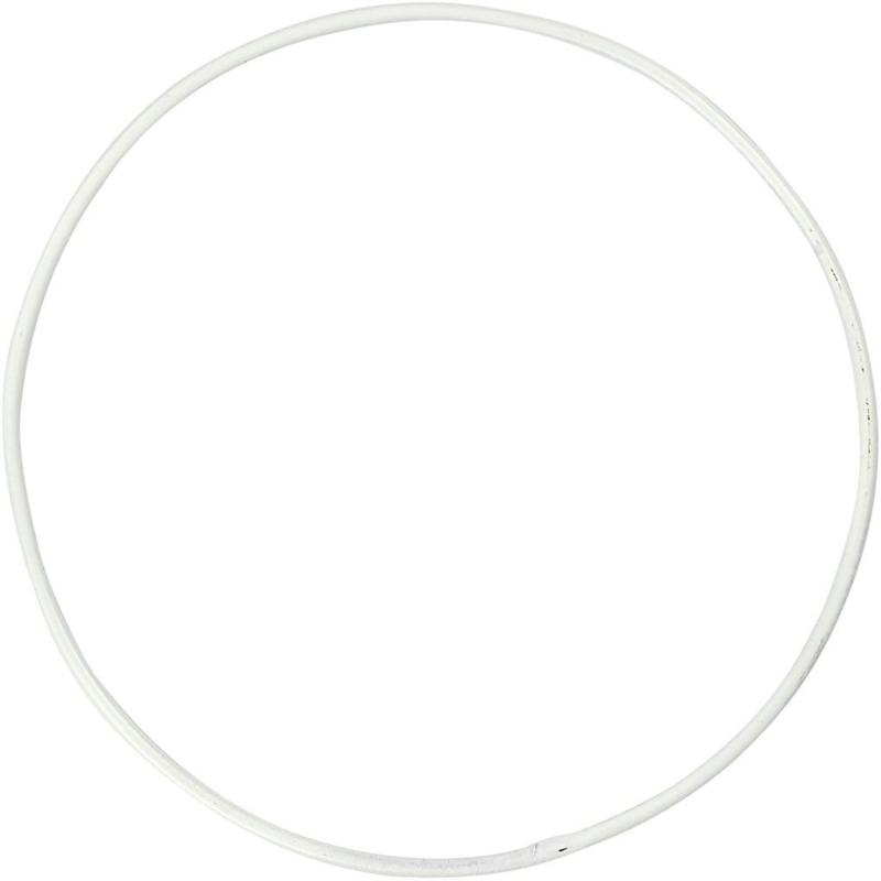 Metalen draadring - 30 cm