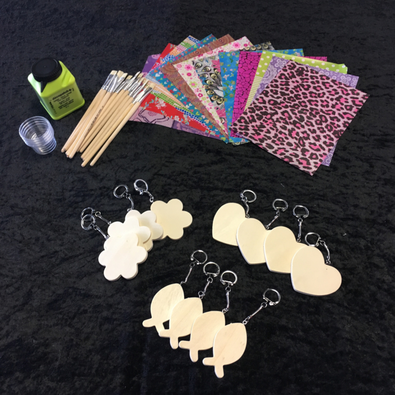 Megaknutselpakket Decopatch - Hippe Hangers de Luxe - 12 / 24 / 36 personen