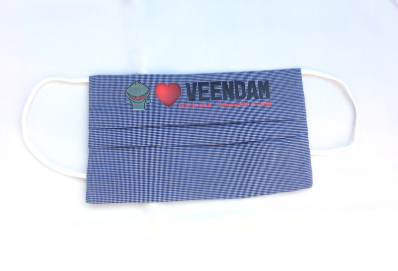 mondkapje Rik Loves Veendam