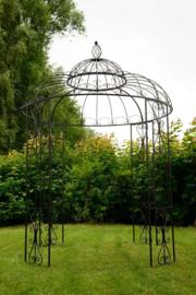 Paviljoen-prieel Lindy bruin ijzer