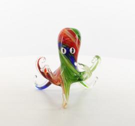 Octopus of inktvis van glas