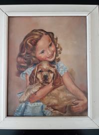 Tilly Moes schilderij