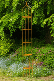 Obelisk roestbruin ijzer 3 meter
