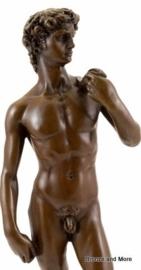 Bronzen beeld David