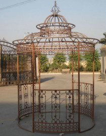 Paviljoen klassiek rond met kroon