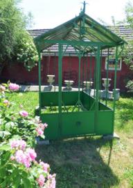 Tuinkas of tuinhuis smeedijzer