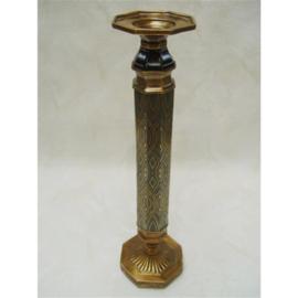 Klassieke bronzen kandelaar