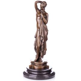 Klassieke bronzen schoonheid beeld