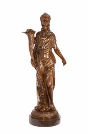 Bronzen beeld 4 jaargetijden Zomer