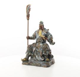 Guan Gong generaal bronzen beeld
