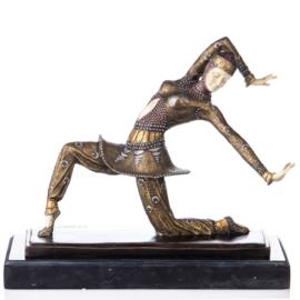 Komora bronzen Chiparus danseres