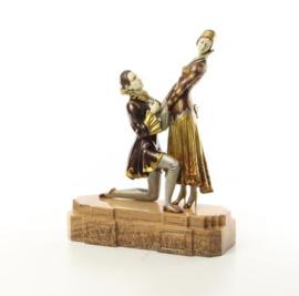 Exclusieve bronzen Chiparus beelden