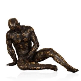 Bronzen beeld De Strateeg