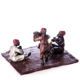 Musicerende Arabische kinderen beeld