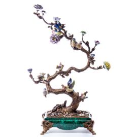 Bonsai Japanse bronzen boomkandelaar