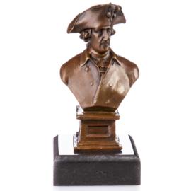 Bronzen buste van koning Friedrich II