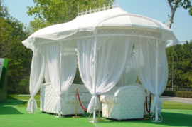 Paviljoen, trouwprieel Love ijzer